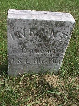 HIRSCHY, INFANT DAUGHTER - Henry County, Iowa | INFANT DAUGHTER HIRSCHY