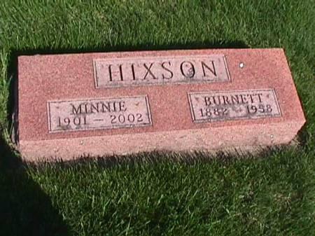 HIXSON, BURNETT - Henry County, Iowa   BURNETT HIXSON