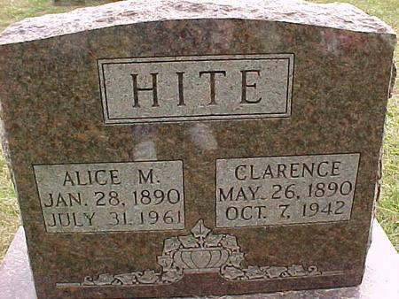 HITE, ALICE M - Henry County, Iowa | ALICE M HITE