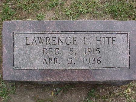 HITE, LAWRENCE L - Henry County, Iowa | LAWRENCE L HITE