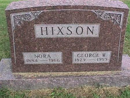 HIXSON, NORA - Henry County, Iowa | NORA HIXSON