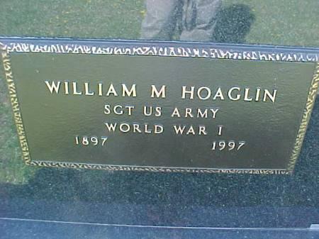 HOAGLIN, WILLIAM M. - Henry County, Iowa | WILLIAM M. HOAGLIN