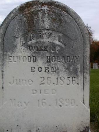 HOLADAY, MARY L. (LAMM) - Henry County, Iowa   MARY L. (LAMM) HOLADAY