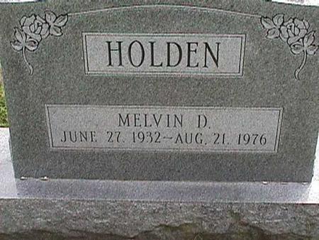 HOLDEN, MELVIN D - Henry County, Iowa | MELVIN D HOLDEN
