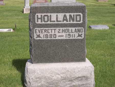 HOLLAND, EVERETT Z. - Henry County, Iowa | EVERETT Z. HOLLAND