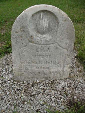 HOLLIS, ELLA - Henry County, Iowa | ELLA HOLLIS