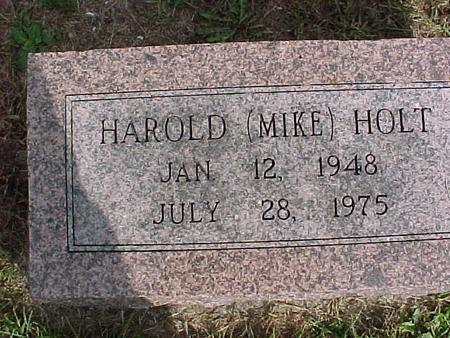 HOLT, HAROLD - Henry County, Iowa | HAROLD HOLT