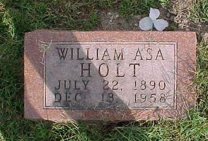 HOLT, WILLIAM ASA - Henry County, Iowa | WILLIAM ASA HOLT