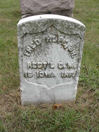 HOPE, FRED - Henry County, Iowa | FRED HOPE
