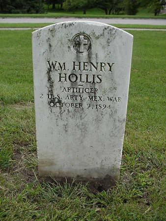 HOLLIS, WM. HENRY - Henry County, Iowa   WM. HENRY HOLLIS