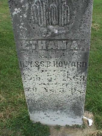 HOWARD, ETHAN A - Henry County, Iowa   ETHAN A HOWARD