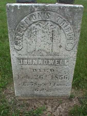 HOWELL, JOHN - Henry County, Iowa | JOHN HOWELL