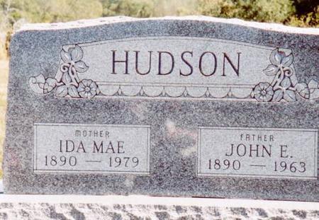 HUDSON, JOHN E. & IDA MAE - Henry County, Iowa | JOHN E. & IDA MAE HUDSON