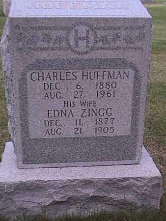HUFFMAN, CHARLES - Henry County, Iowa   CHARLES HUFFMAN