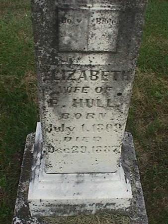 HULL, ELIZABETH - Henry County, Iowa | ELIZABETH HULL