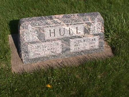 TAYLOR HULL, BLANCHE - Henry County, Iowa | BLANCHE TAYLOR HULL