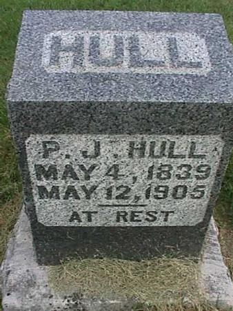 HULL, P. J. - Henry County, Iowa | P. J. HULL