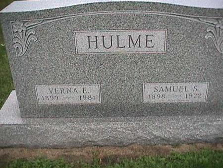 HULME, SAMUEL S. - Henry County, Iowa | SAMUEL S. HULME