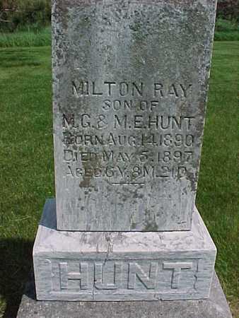 HUNT, MILTON RAY - Henry County, Iowa | MILTON RAY HUNT