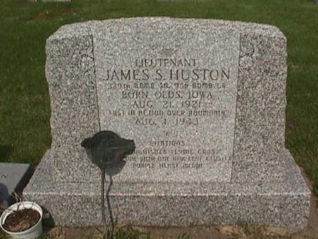 HUSTON, JAMES - Henry County, Iowa   JAMES HUSTON