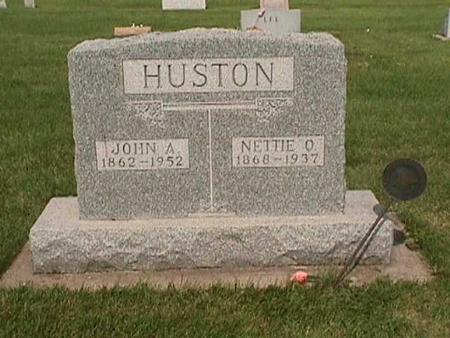 HUSTON, JOHN - Henry County, Iowa   JOHN HUSTON