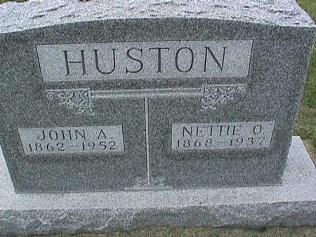 HUSTON, NETTIE - Henry County, Iowa | NETTIE HUSTON