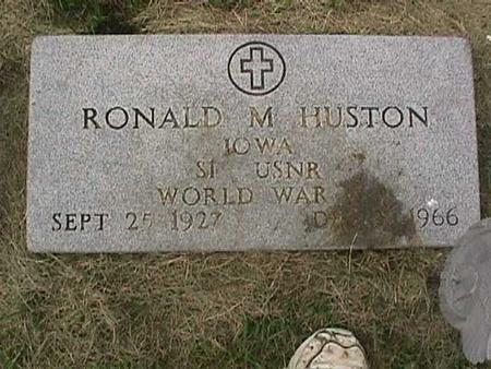 HUSTON, RONALD M. - Henry County, Iowa | RONALD M. HUSTON