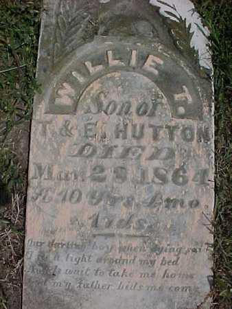 HUTTON, WILLIE T. - Henry County, Iowa | WILLIE T. HUTTON