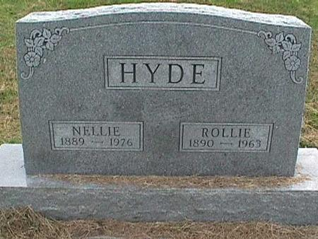 HYDE, NELLIE - Henry County, Iowa | NELLIE HYDE