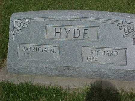 HYDE, RICHARD - Henry County, Iowa | RICHARD HYDE