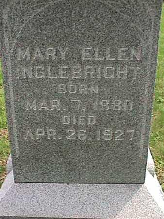 INGLEBRIGHT, MARY ELLEN - Henry County, Iowa | MARY ELLEN INGLEBRIGHT