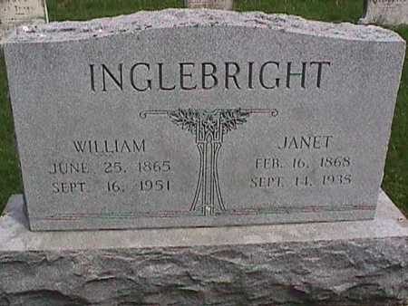 INGLEBRIGHT, WILLIAM - Henry County, Iowa | WILLIAM INGLEBRIGHT