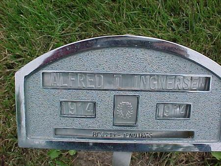 INGWERSEN, ALFRED T. - Henry County, Iowa   ALFRED T. INGWERSEN