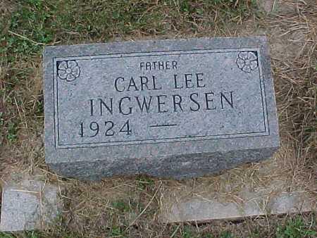 INGWERSEN, CARL LEE - Henry County, Iowa | CARL LEE INGWERSEN