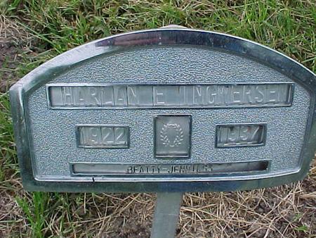 INGWERSEN, HARLAN E - Henry County, Iowa | HARLAN E INGWERSEN