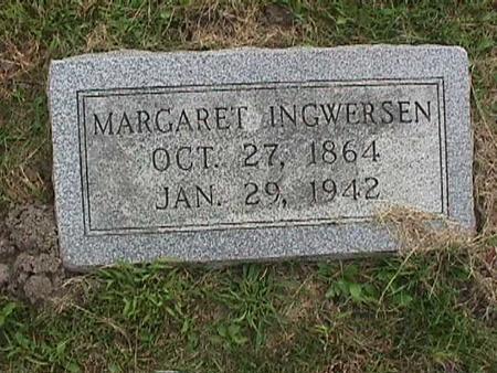 INGWERSEN, MARGARET - Henry County, Iowa   MARGARET INGWERSEN