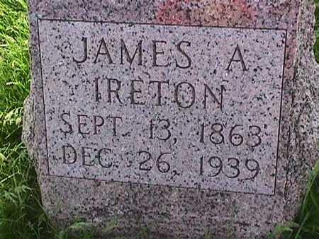 IRETON, JAMES A. - Henry County, Iowa | JAMES A. IRETON