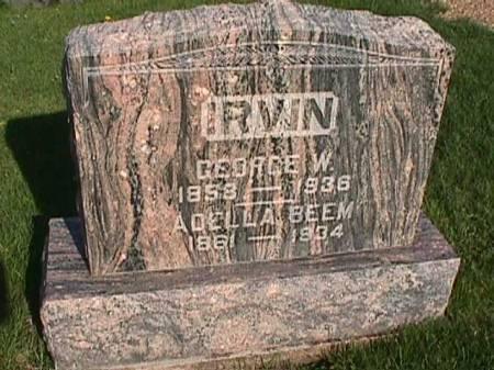 IRVIN, GEORGE W. - Henry County, Iowa | GEORGE W. IRVIN