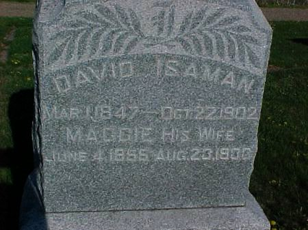 ISAMAN, DAVID - Henry County, Iowa | DAVID ISAMAN