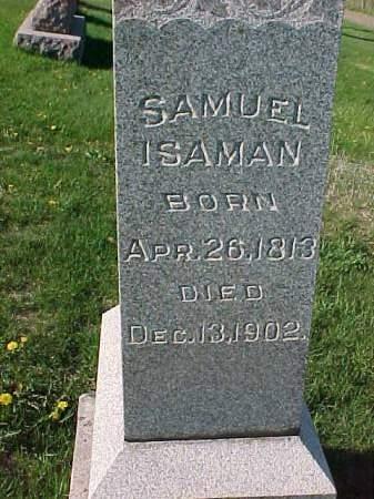 ISAMAN, SAMUEL - Henry County, Iowa | SAMUEL ISAMAN