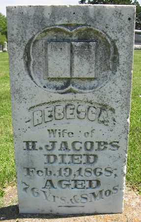 JACOBS, REBECCA - Henry County, Iowa | REBECCA JACOBS