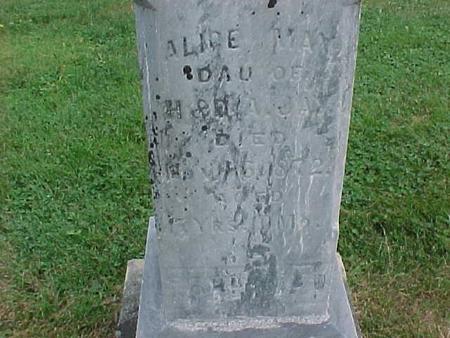 JAY, ALICE MAY - Henry County, Iowa   ALICE MAY JAY