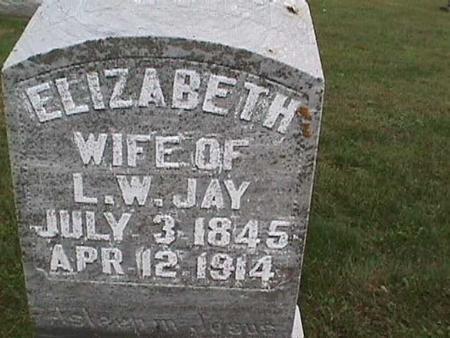 JAY, ELIZABETH - Henry County, Iowa | ELIZABETH JAY