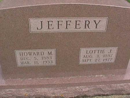 JEFFERY, HOWARD M - Henry County, Iowa   HOWARD M JEFFERY