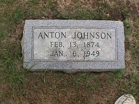 JOHNSON, ANTON - Henry County, Iowa   ANTON JOHNSON