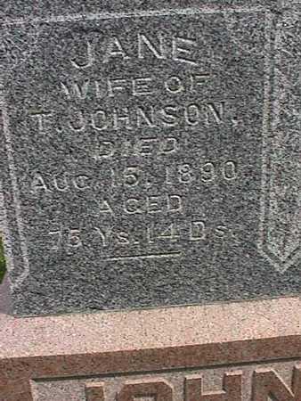 JOHNSON, JANE - Henry County, Iowa | JANE JOHNSON