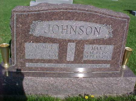 JOHNSON, NAOMI L - Henry County, Iowa | NAOMI L JOHNSON