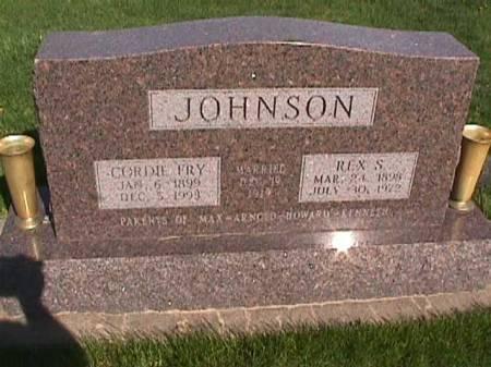 JOHNSON, REX S. - Henry County, Iowa | REX S. JOHNSON