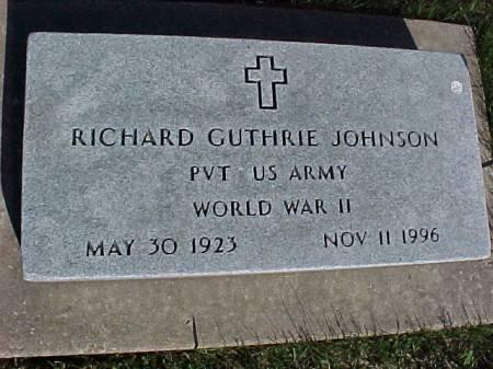 JOHNSON, RICHARD GUTHRIE - Henry County, Iowa | RICHARD GUTHRIE JOHNSON