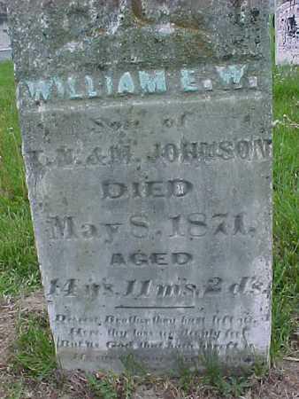 JOHNSON, WILLIAM W. - Henry County, Iowa | WILLIAM W. JOHNSON